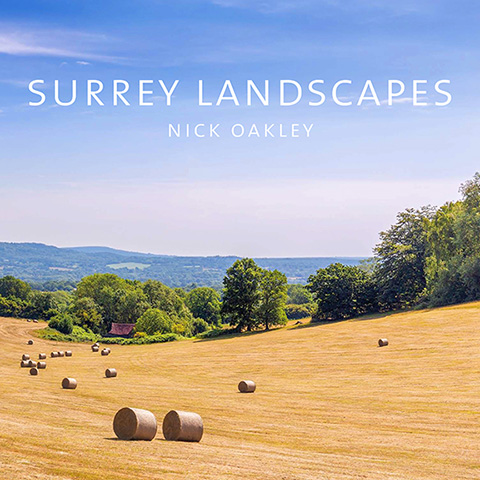 Cover image of the Surrey Landscapes book