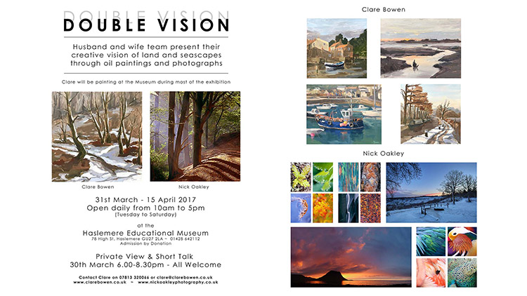 Double Vision Exhibition in our sights