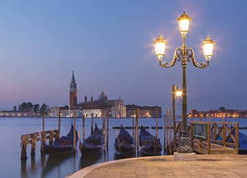 New Photograph Quiet Moorings Venice, cover for the New images gallery by Nick Oakley Photography